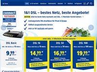 DSL-Festnetz: Attraktiver Wechselbonus bei 1&1