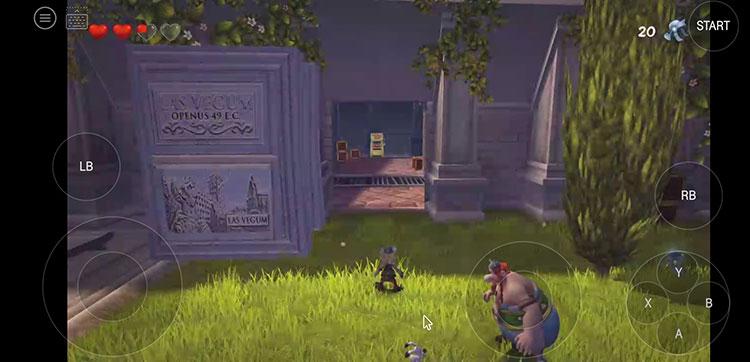 """Screenshot vom Spiel """"Asterix & Obelix XXL2"""" bei MagentaGaming"""