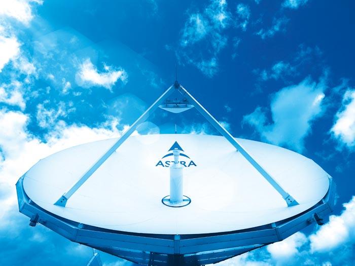 Uplink-Antenne für DSL per Satellit; Bild: ses.com / Douglas Fisher