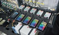 Messequiment des Netztests 2012