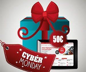 Cyber Monday: 50 Euro Rabatt auf DSL