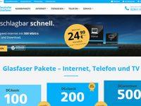 Surfen mit Spitzengeschwindigkeit: 500 Mbit/s verfügbar