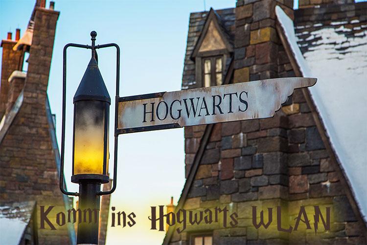 Komm ins Hogwarts WLAN