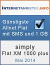 simply Flat XM 1000 plus