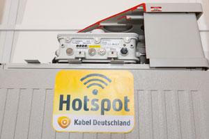 Kabel Deutschland WLAN Hotspot; Quelle: Kabel Deutschland