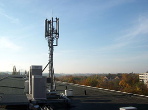 LTE Antenne von o2; Bild: Telefonica