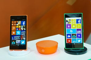Lumia Smartphones; Bild: Microsoft