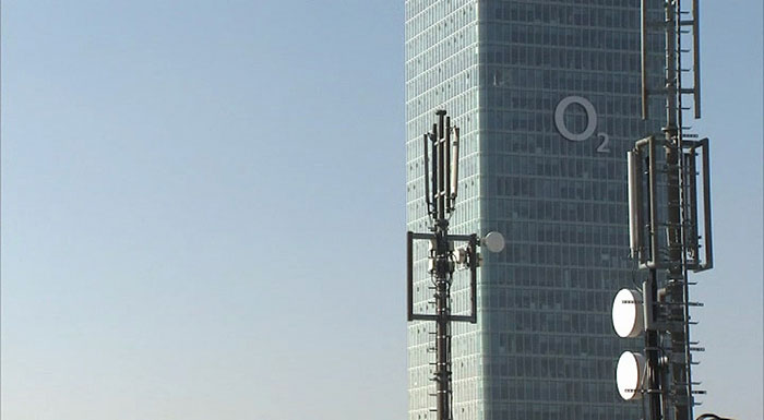 o2 Zentrale; Bild: o2