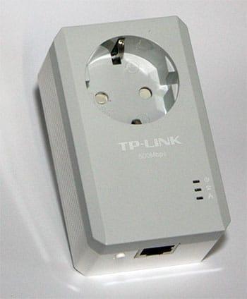 Powerline Adapter mit zusätzlicher Steckdose