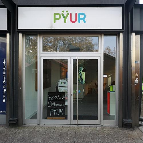 PYUR Shop in Duisburg