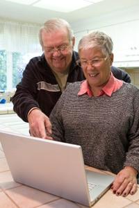 Senioren im Internet