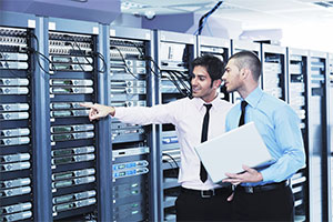 Server Netzwerk Raum