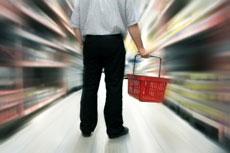 Lebensmittel Shopping