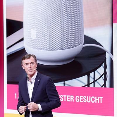 Telekom auf der IFA 2018; Bild: Deutsche Telekom
