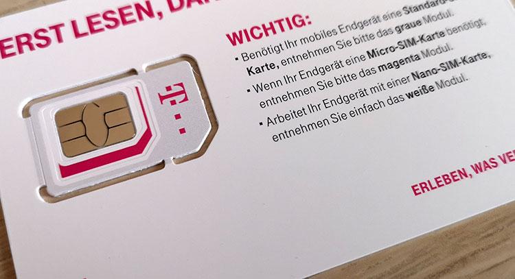 Magenta Mobil SIM-Karte