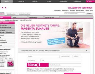 Telekom: Besondere MagentaZuhause Angebote
