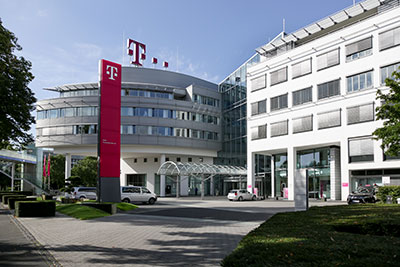 Telekom Zentrale; Bild: Deutsche Telekom