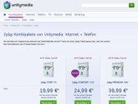Unitymedia Kabel BW mit neuer Tarifstruktur
