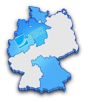 Verfügbarkeitskarte Deutsche Glasfaser