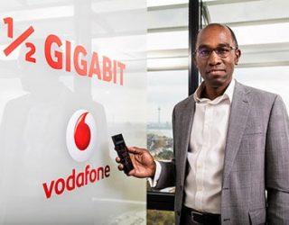 Vodafone versorgt erste Städte mit 500 Mbit/s