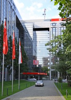 Vodafone-Zentrale in Düsseldorf