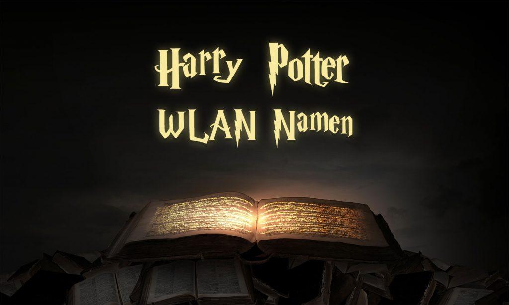 WLAN Namen: Harry Potter