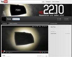 Ponk auf Youtube